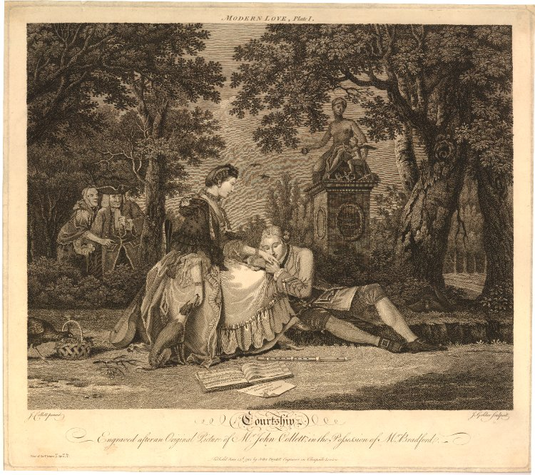 an analysis of marriage and courtship during the eighteenth century An analysis of elizabeth bennet  during the eighteenth century, courtesy literature was a highly popular genre  accomplishments, courtship and marriage .
