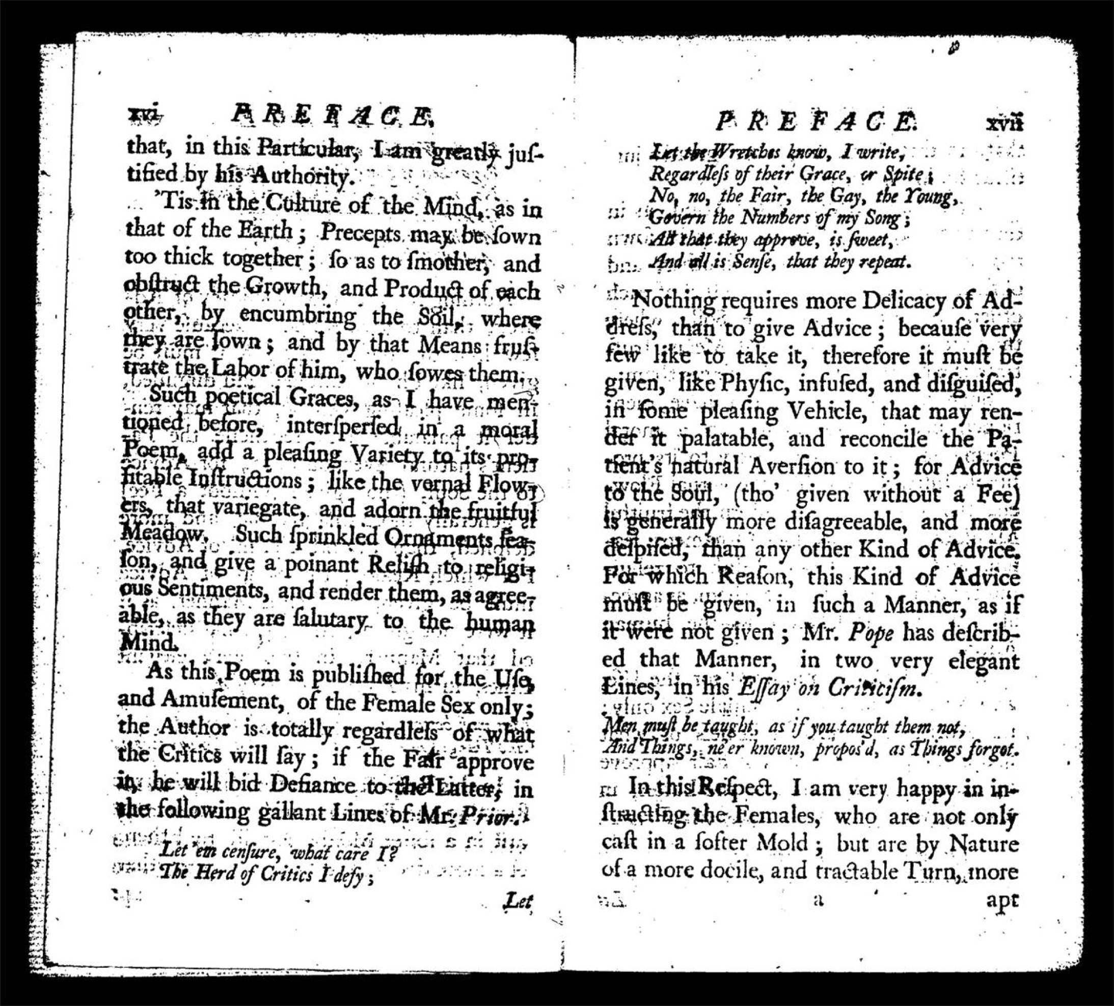 conduct books in the 18th century essay Get this from a library polite literature : conduct books and the novel in eighteenth-century england [jennifer claire georgia.